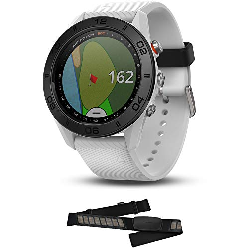 Why Should You Buy Garmin Approach S60 Golf Watch White with White Band (010-01702-01) HRM-Dual Hear...