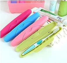 NexusWorld 4Pcs Multicolour Travel Toothbrush Holder Cover Case - Set of 4