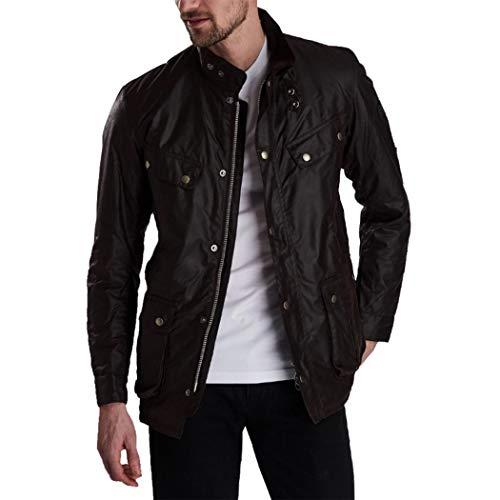 Barbour International Lightweight Duke Wax Jacket Black-L