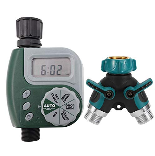 buji The Best Outdoor Faucet Programmable Hose Faucet Timer (with for 2 Hose line Connector)
