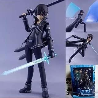 Bentum 15cm Sword Art Online Kirigaya Kazuto Figma PVC Action Figure