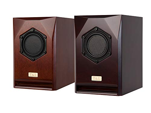 T&L フロント/平面スピーカー F-801 H210xW138xD180 [Color/BROWN]