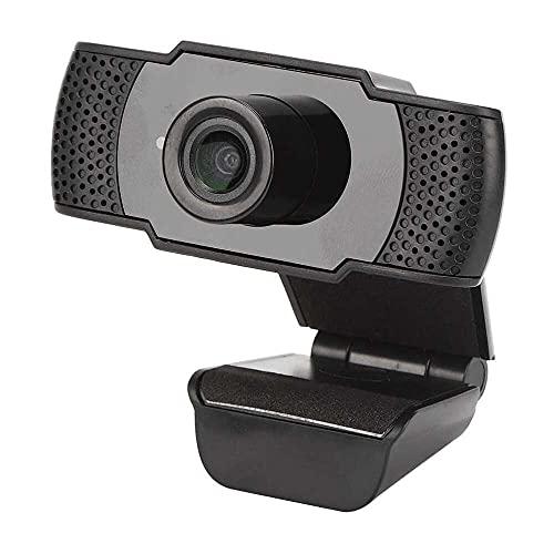 Yuyanshop 1080P HD Webcam, USB Webkamera Webcam mit Mikrofon für Desktop Computer PC für Videoaufnahmen Online-Klassen Plug and Play