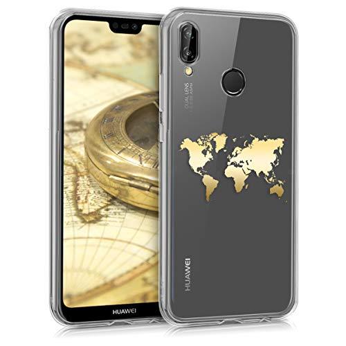 puissant Coque kwmobile compatible Huawei P20 Lite – Coque de protection en silicone…