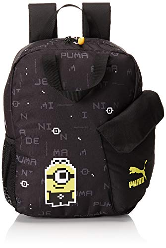 Puma Minions Backpack, Unisex niños, Black, OSFA
