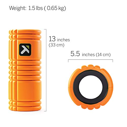 Trigger Point Ball Foamroller Grid, Orange, TF00226 - 2