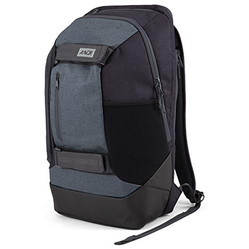 AEVOR Bookpack - ergonomisch, Laptopfach 15 Zoll, Skate Board Tragesystem, 26 Liter, Bichrome Night -...