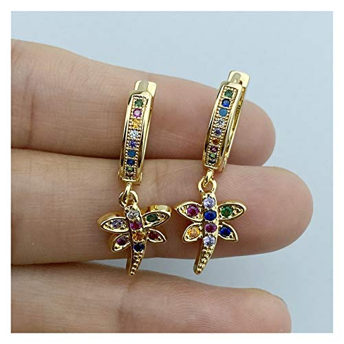 Fine Personality zircon serpentine earrings for women girls fashion hip hop statement personality party jewelry gifts for Women Girls (Metal Color : Earring 15)