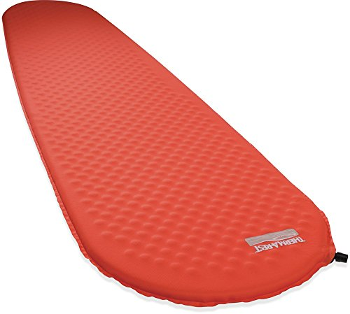 Therm-a-Rest Prolite Ultralight Self-Inflating Backpacking Pad, Standard Valve, Large - 25 x 77 Inches