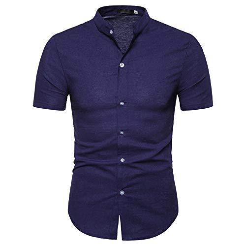 Camisa de verano de manga corta para hombre
