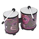 N/A útil para tambor de bongo con 2 baquetas.