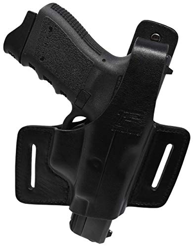 Review Garrison Grip Black Italian Leather Tactical Holster Fits All Glock Models Except 26, 27, 33,...