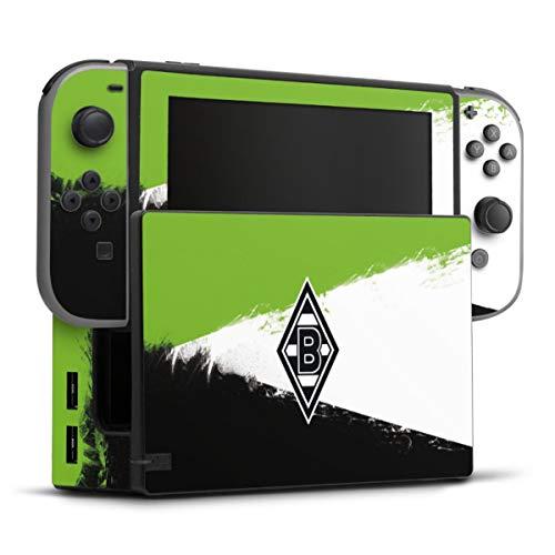 DeinDesign Skin kompatibel mit Nintendo Switch Folie Sticker Gladbach Borussia Mönchengladbach Offizielles Lizenzprodukt