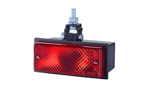 Rouge arrière brouillard lampe 12 V 24 V UNIVERSEL Pick Up Nouvelles lampes de récupération Camion Tracteur Remorque Caravane Camper Bus camping-car Agricole Socle basculant pour châssis Ampoule G03