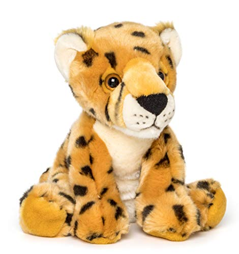 Wildlife Tree 9 Inch Stuffed Cheetah Plush Floppy Animal Kingdom Collection