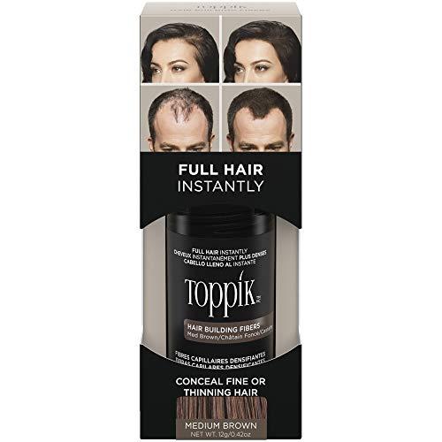 Hair Fiber Spray to Fix Bald Spot by Toppik