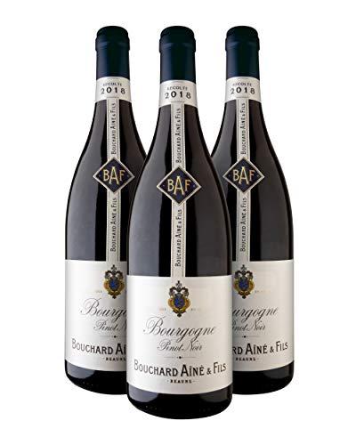 Bouchard Aîne & Fils Bourgogne A.O.C. Bourgogne Vino Tinto - Borgoña, Francia - Pack 3 Bot. 75 cl