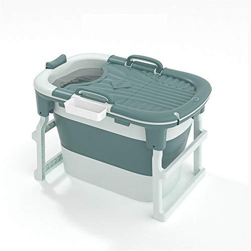 Bañera plegable para adultos, bañera de hidromasaje, bañera de hidromasaje, bañera ideal para baño caliente (tamaño: 103 x 65 x 25,5 cm, color: 2)