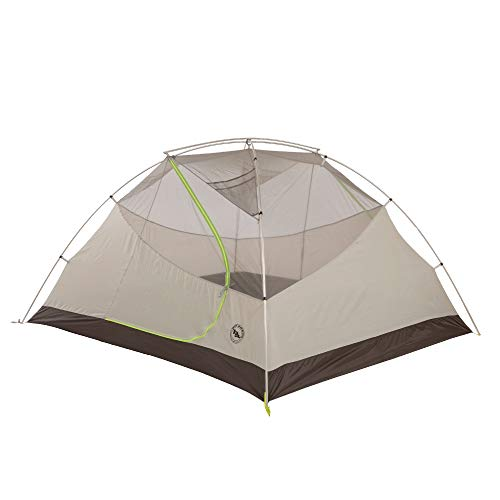 Big Agnes Blacktail 4 Package: Includes Tent and Footprint, Gray/Green, 4 Person