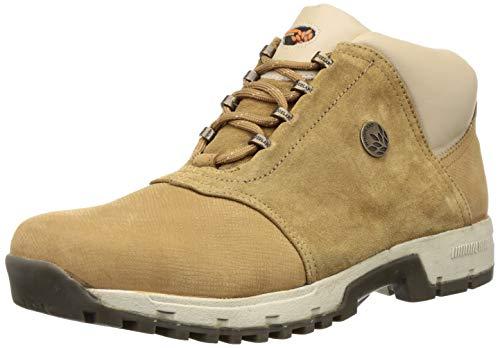 Woodland Men's Camel Leather Boot 9 UK/India (43 EU)-(OGB 0706109)