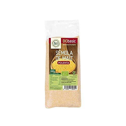 Sémola de maíz Polenta, Sol Natural 500g