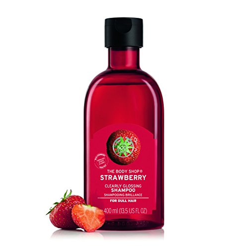 The Body Shop Strawberry Clearly Glossing Shampoo, 13.5 Fluid Ounce