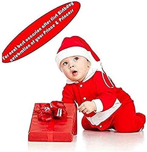 Mobina Santa Claus Dress Costume For Boys Girls Kids 6 Months 12 Months