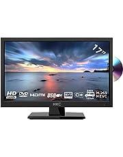 HKC 17H2C (17 inch) LED TV met dvd-speler (HD, Triple Tuner, CI +, HDMI, mediaspeler via USB 2.0) [energieklasse A+]