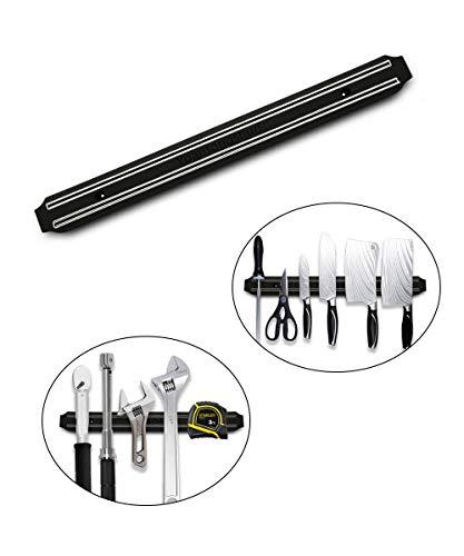Magnetic Knife Strips,Magnetic Knife Holder Magnetic Bar for knives Tools, Knife Rack, Knife Strip, Kitchen Utensil Holder, Tool Holder, Multipurpose Magnetic Knife Rack (15')