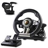 Racing Wheel, PXN-V3II 180° Game Racing Steering...