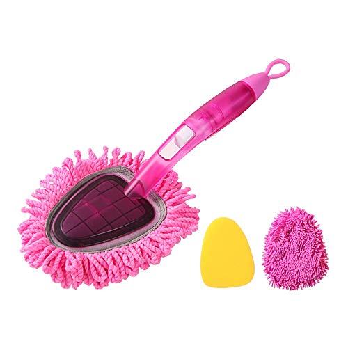 Chenxin Flederwisch, Mikrofaser Staubspray Sprühwasser Staub besprühen Staubbürste Zu Werkzeuge zur Haushaltsreinigung und Staubentfernu (Color : Pink)