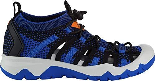 McKINLEY Cayman Jr, Chaussures de Randonnée Basses, Bleu (Blue Royal/Orange D 901), 36 EU