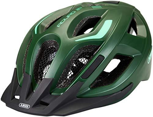 Abus Unisex– Erwachsene ADURO 2.1 Road Helm, smaragd green, L (Groß)