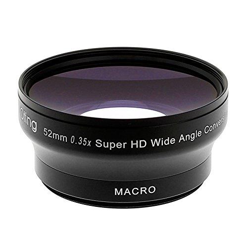 Objetivo súper Gran Angular Fisheye OTING 0.35X con Macro para Nikon D7200 D7100 D7000...