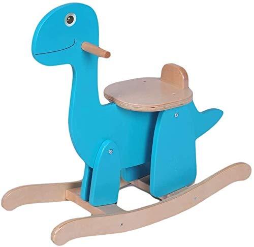 LINGZHIGAN Caballito de Madera Dinosaurio de Juguete de Madera Simple Montaje de bebé niño de...
