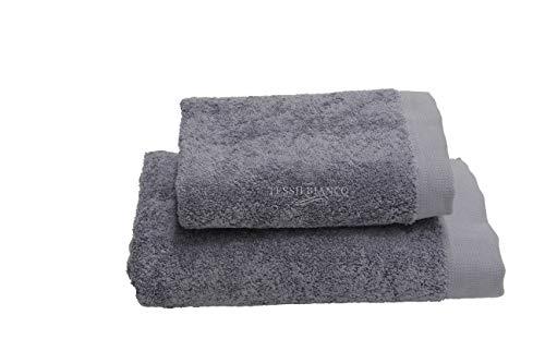 Somma Origami - Juego de toallas de baño y invitados de metal