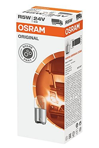 Osram Lámpara Original 5626 BA15d 24V 5W, Set de 10