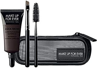Make Up For Ever Aqua Brow Kit - #4 Brown Black 7ml/.23oz