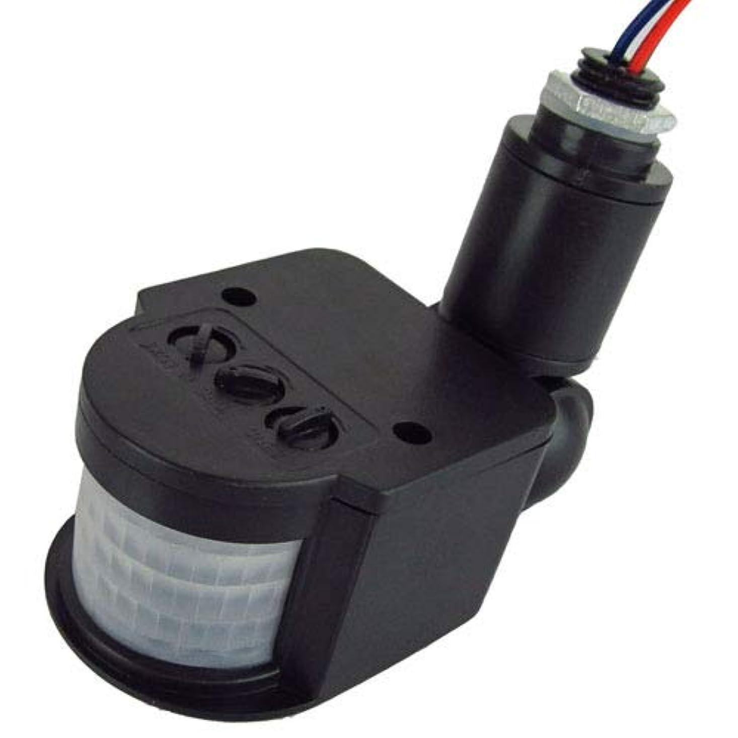 トリプルハブブ流暢Doyime 12M PIR 赤外線 モーション センサー 検出器 LED ライト アウトドア RF AC85V~265V