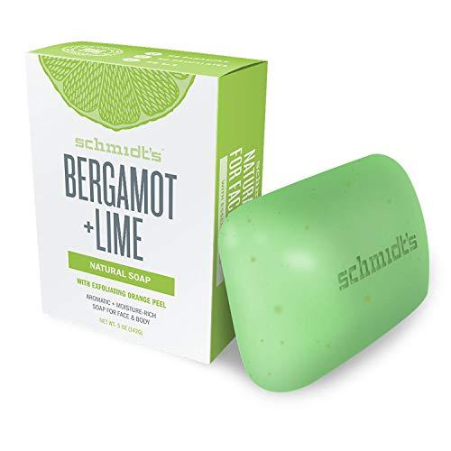 Schmidt's Savon d'Origine Naturelle Hydratant à La Bergamote & au Citron Vert, 142g