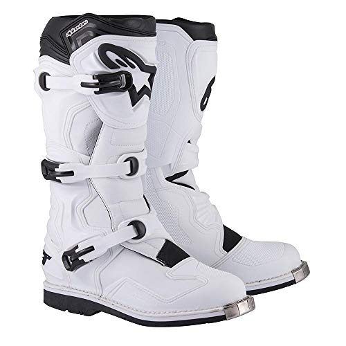 Alpinestars Motocross-Stiefel Tech 1 Weiß Gr. 43