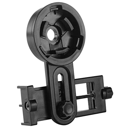 teng hong hui Monocular Teléfono Clip de plástico Binocular monocular Soporte Soporte Universal para microscopio móvil Telescopio Monte Teléfono