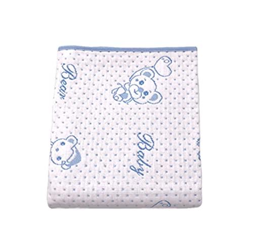 Dibujos animados portátil de algodón bebé pañal cambiador para recién nacidos lavable impermeable colchón hoja de cama bebé cambiante cojín cubierta
