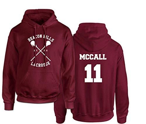 Fruit Dutch Teen Wolf Scott MCCALL Camiseta de Lacrosse Beacon Hills número...
