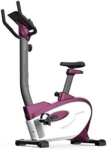 KDKDA Cubierta de Bicicleta de Ejercicios Cubierta Ciclismo Bicicleta estacionaria, Asiento Ajustable y Soporte for el Manillar, la Tableta, Zona Estable y Suave for el hogar Cardio Workout