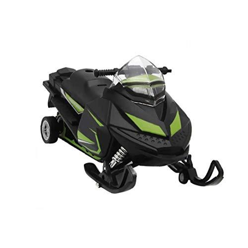 I modelli dei veicoli 1:32 Scala Motoslitta modello di moto con luci e suoni modello di auto Giocattoli regalo per i bambini più piccoli bambini colore casuale
