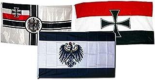 3x5 German Deutsches Reich Imperial Germany WW1 Naval Jack Flag 3/'x5/' Banner