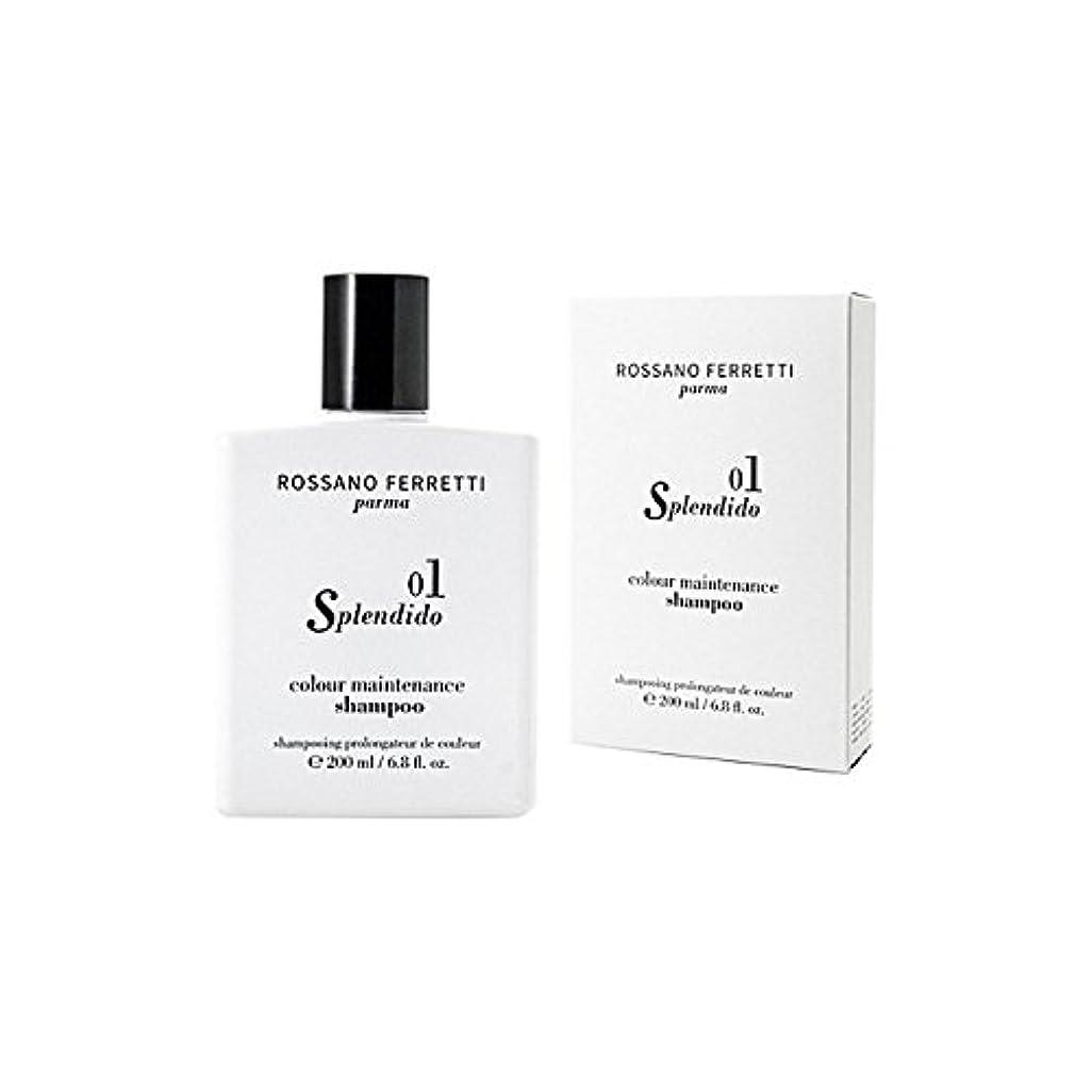 シェルター同じ受けるRossano Ferretti Parma Splendido Colour Maintenance Shampoo 200ml - ロッサノフェレッティパルマスプレンディードカラーメンテナンスシャンプー200ミリリットル [並行輸入品]