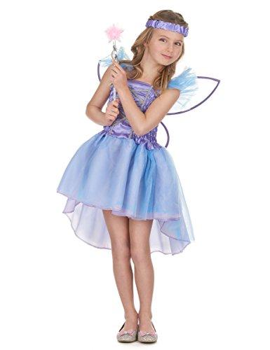 Déguisement fée violette fille - 7 - 9 ans (M)
