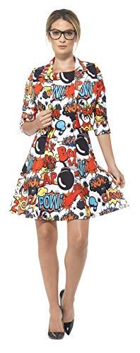 Smiffy's 45953M - Comic-Anzug mit Jacke und Kleid